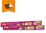 Pely Back & Snack Papier: Kaufe 2 zahle 3,20 €