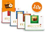 Merci Finest Selection: Kaufe 10 zahle 29,90 €