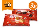 Dr. Oetker Kleine Kuchen: Kaufe 3 zahle 5,00€